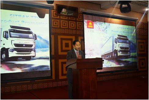 驻拉各斯总领事出席中国重汽产品推介会